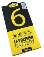 Аккумулятор для iPhone 6 1810mAh Golf
