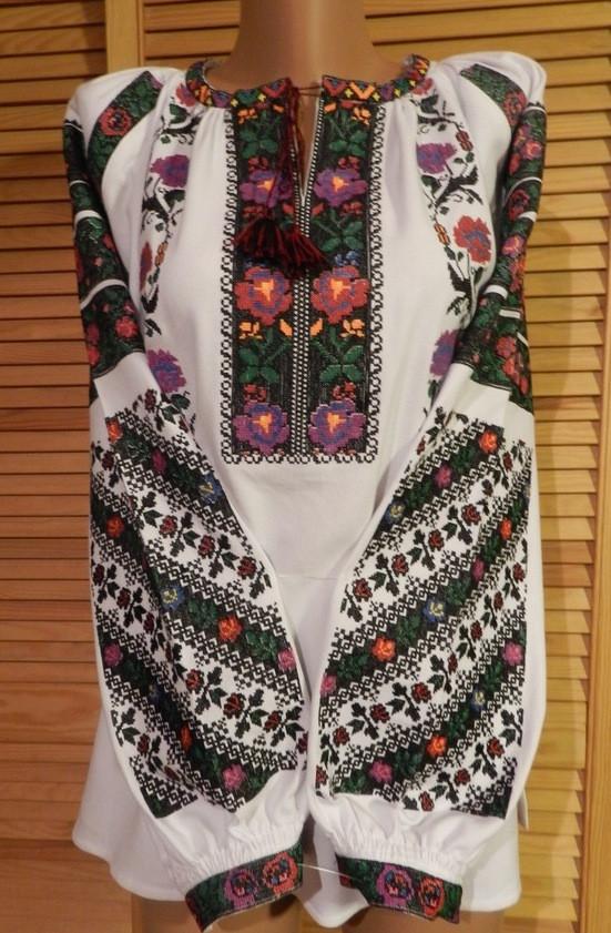 Борщівська вишиванка жіноча домоткане полотно 50- 52 розмір  продажа ... fe0c1ac3a200f