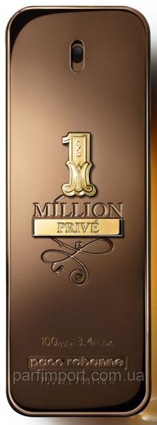 PACO RABANNE 1 MILLION PRIVE EDP 100 ml TESTER парфум мужской (оригинал подлинник  Франция)