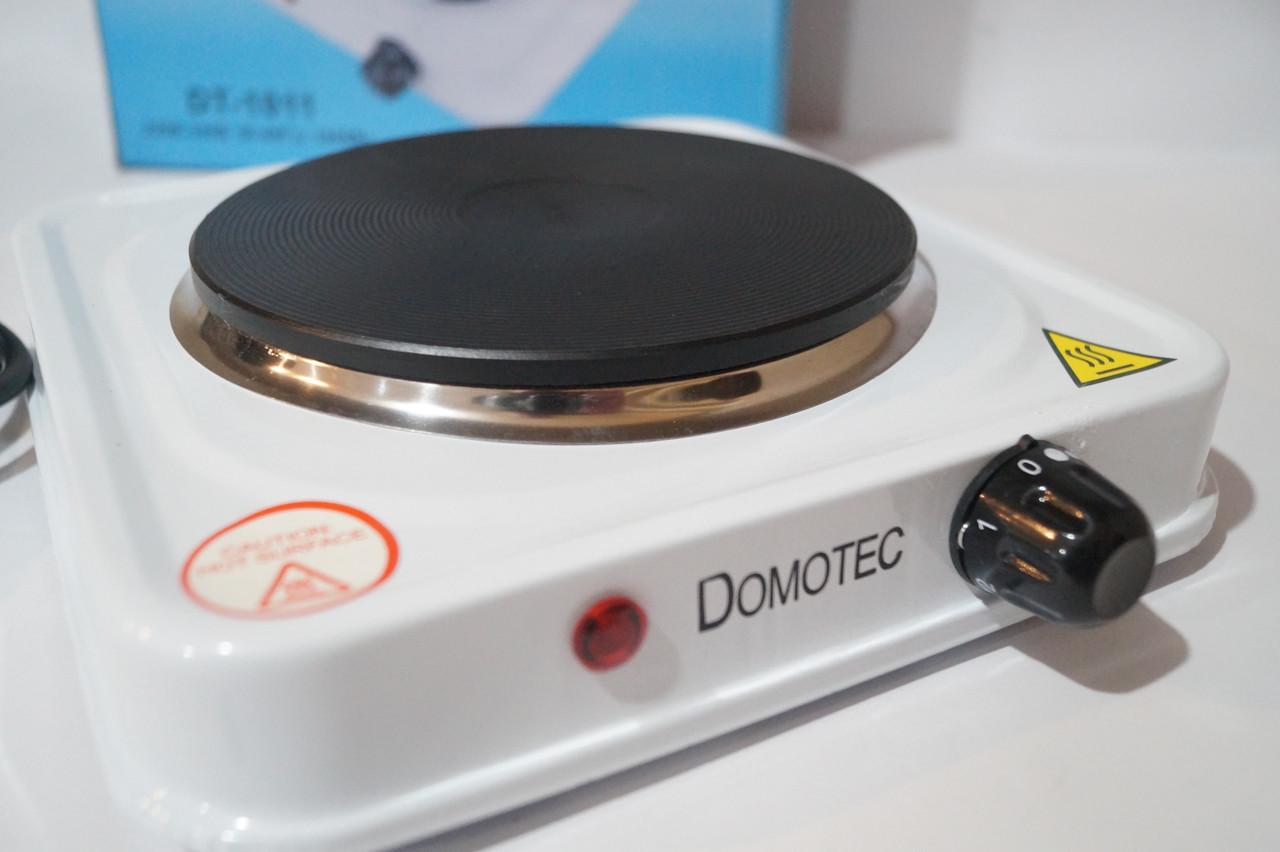 Электрическая плита Domotec На 1 диск DT-1011  1000w