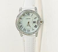 Часы наручные  на белом ремешке  (копия)