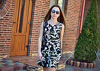Платье сарафан Камуфляж