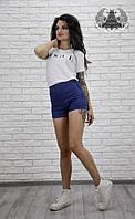 Женские джинсовые шорты №2108-49
