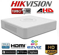 4-канальный Turbo HD видеорегистратор HIKVISION DS-7104HGHI-F1