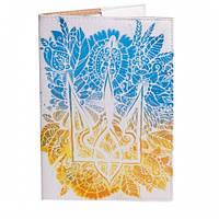 Обложка на паспорт (Цветочный герб)