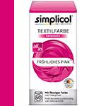 Фарба Simplicol для зміни кольору 150мл+400г закріплювач рожева