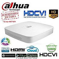 4х-канальный 720P HDCVI видеорегистратор DAHUA DH-HCVR4104C-W-S3
