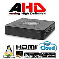4-х канальный видеорегистратор AHD Tecsar HDVR Neo-Futurist
