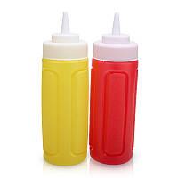 Пластиковые емкости для соуса 18 см 5 см набор из 2 штук