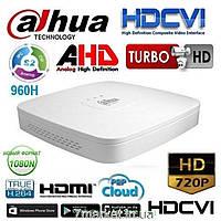 4-х канальный penta-brid видеорегистратор DAHUA DH-XVR4104C