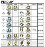 Комплект винта установочный, Mercury (D) 40-140HP - MD-PKT (17014501)