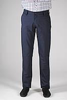 Мужские осенние брюки PRODIGY ровные, серо-синие больших размеров