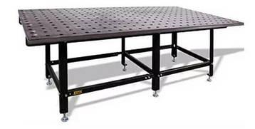 Сварочный стол SST 80/35L размером 2980x1480мм из стали ST52