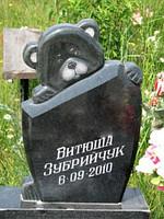 Гранітні пам'ятники купити від виробника (Зразки №260)