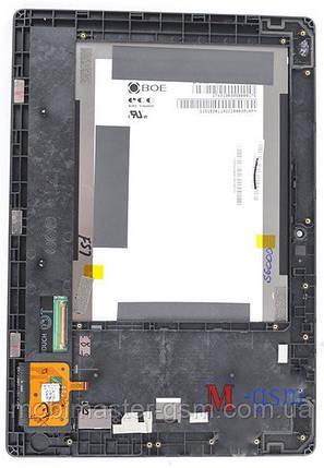 Дисплейный модуль в рамке Lenovo S6000 черный, фото 2