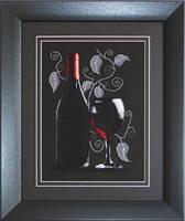 """Набір для вишивки хрестиком """"Червоне Вино"""""""