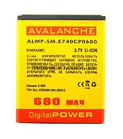 Аккумулятор Avalanche P Samsung E740/M600 (850mAh)