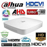 8-ми канальный penta-brid видеорегистратор DAHUA DH-XVR4108C