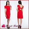 """Платье  """"Lavitta"""" - цвет красный"""