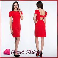 """Платье  """"Lavitta"""" - цвет красный, фото 1"""
