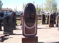 Гранитный памятник, памятники надгробия (Образцы №283)
