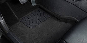 3D коврики в салон текстильные  Acura RDX Черный 2014-