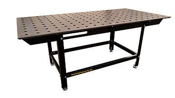 Сварочный стол SST80/35M размер 2480x1230мм из стали ST52