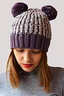 Модная шапочка с ушками