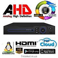 8-ми канальный видеорегистратор PSV AHD DVR HD-16H