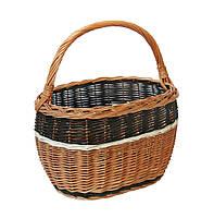 Плетеная корзина для грибов или похода по магазинам.