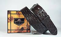 Ремень коричневый кожаный Tony Perotti 204 (Италия)