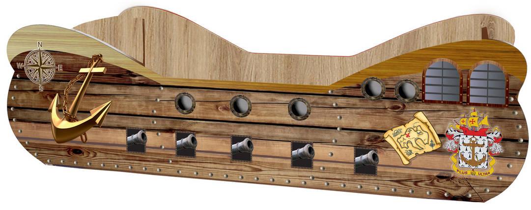 Кровать детская Кораблик, фото 2