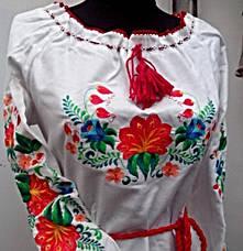 Женское платье вышиванка цветы, фото 3