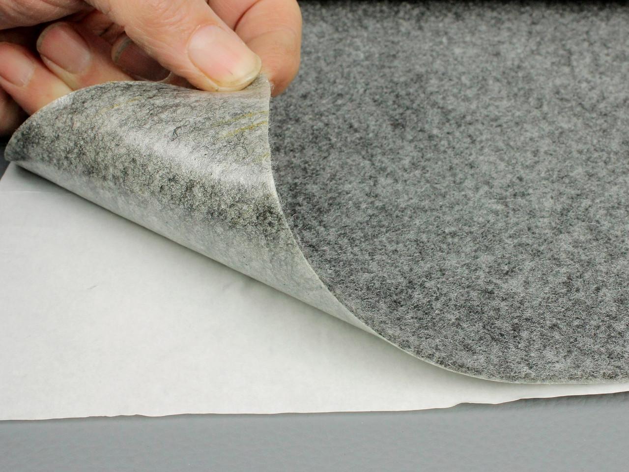 """Карпет автомобильный Серый самоклейка (лист 48х100 см), толщина 2.2 мм, плотность 300 г/м2 - Торгово-производственная компания """"Изолон-Вест"""". в Львовской области"""