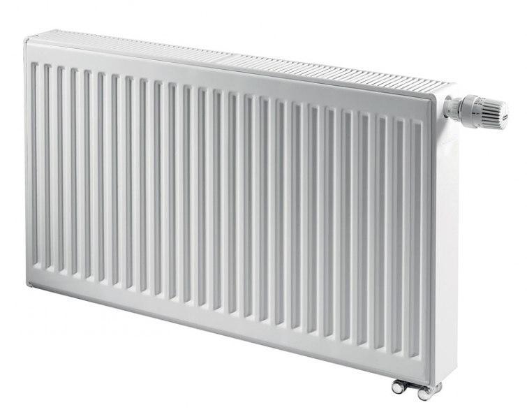 Стальной панельный радиатор KERMI FTV 22 тип 400х1600 THERM X2 нижнее подключение