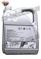 Масло ORIGINAL VAG 0W-30 LongLife II 5л. G 052183M4