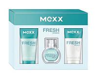 Mexx Fresh Woman Набор Туалетная вода 15 мл + гель для душа 50 мл + лосьон для тела 50 мл