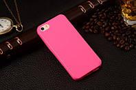 Матовый силиконовый чехол iPhone 4G/4S Pink