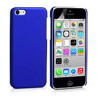 Матовый силиконовый чехол iPhone 5C Blue