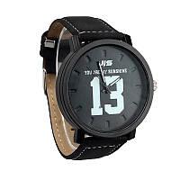 Часы  черные 13