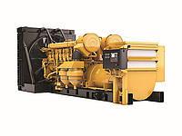 Дизельная генераторная установка 3516B с наземными генераторными установками с динамическим смешиванием газа