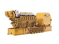 Морская генераторная установка C280-16 — турбокомпрессор устанавливается спереди