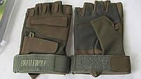 Перчатки тактические 5.11  безпалые цвет койот