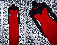 Шикарные женские платья в пол с кружевом 46, 48, 50, 52 размер батал
