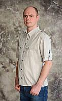 "Оригинальная,летняя мужская рубашка ""Polo"" sheet.Новинка!"