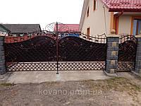 Ворота кованые Боярин