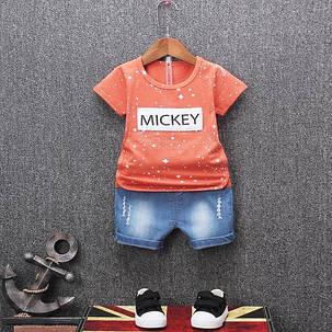 Детский летний костюм мискей , фото 2