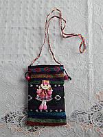 Женская сумка в карпатском стиле для телефона, фото 1