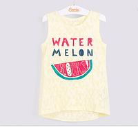 Детская стильная футболка с рисунком на девочку