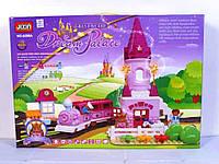 Конструктор Jixin 6288A Замок мечты (Железная дорога) 81 деталь